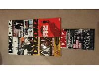 DMZ 1-5 graphic novels