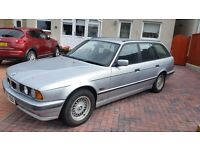 BMW E34 520 Touring LONG M.O.T Manual Service history DRIVE AWAY