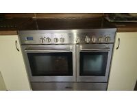 Electric range cooker