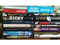 Mainly autobiographies