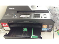 Brother MFC-J5910DW A3 Colour multifunction inkjet printer
