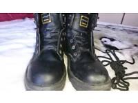 Dunlop steeltoe boots size 11
