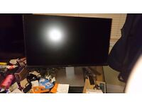 "Dell 24"" Flat Screen Monitor"
