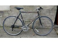 Peugeot Esprit road hybrid bike with straight bars fast light bicycle racer