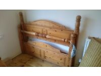 Decorative Wooden - Double Bed