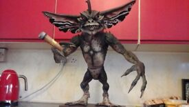 LIFE SIZE GREMLIN PROFFESIONALY BUILT AND AIRBRUSHED