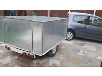 Car trailer solid up to 2 ton