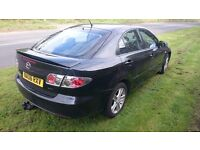 Mazda 6 1.8 petrol 2006, 118 bhp, Service books, MOT due 12 May 2017