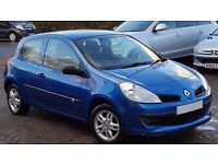 NEW SHAPE RENAULT CLIO 1.2 EXTREME BLUE 3 DOOR NEW 12 MONTHS MOT STARTS AND DRIVES VERY WELL