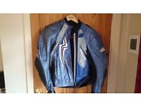 "Hein Gericke Leather Jacket and Trousers (5ft 8/9"" - 11/12 Stone)"