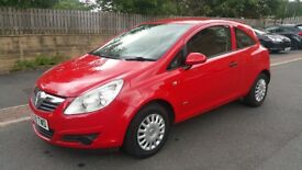 2009 Vauxhall Corsa EcoFlex Diesel Low Mileage Two keys