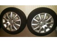 Genuine Vauxhall alloy wheels 16 inch