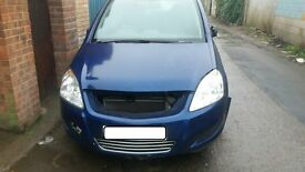 VAUXHALL ZAFIRA 2009 PETROL 1.6 BREAKING FOR PARTS/SPARES!!!