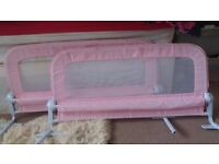 Summer Pink Double Bed Rail
