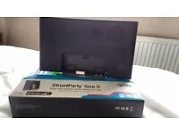 StreetParty Size 0 Super-Slim portable stereo speaker for Ipod or IPhone