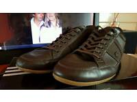 Lacoste leather trainer size 12