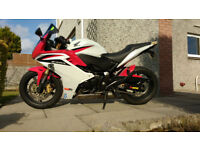 Honda CBR600 excellent condition, low mileage, MOT till Feb 2019, recently serviced, road ready