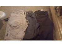 Mens jeans boots n tops