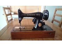 SINGER sewing machine. Vintage. Shabby chic
