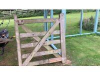 1 x 4 foot 5 bar gate (moretonhampstead NOT newton abbot)