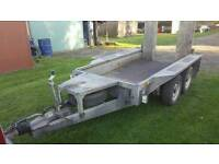 Ivor williams plant trailer/mini digger