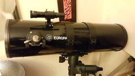 "Orion Europa 8"" (200mm) f4.6 reflector telescope"