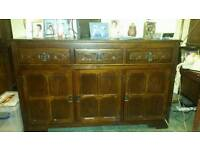 Solid wood sideboard and dressers