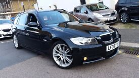 BMW 320I M SPORT 2008 TOURING ESTATE MANUAL 2 KEYS NEW MOT LOW MILEAGE