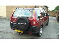 HONDA CRV MANUAL PETROL 2002