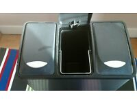 Stainless Steel Three Compartment Kitchen Pedal Bin