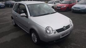 2002 Vw LUPO AUTOMATIC £699