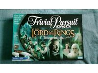 Trivial pursuit LOTR TRILOGY