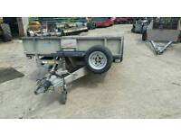 Ifor williams 14 foot beaver tail trailer