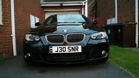 BMW 325D M Sport, I Drive Nav, 270bhp, Manual, Stunning.