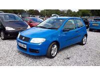 Fiat Punto Active Sport 1242cc Hatchback***£595*** Blue Manual 2005(05) MotExpires: 09 December 2016