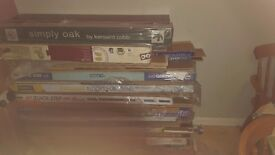 laminate flooring job lot variety if colours and sizes not all the same
