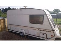 Bailey Pagaent Magestic, two berth, touring caravan.