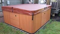 Hot tub - good condition but needs work.