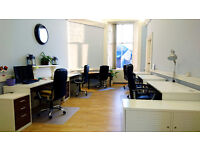 Hot-desks available at co-working space at the Shore, Leith