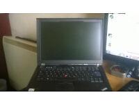 Lenovo T400 2.40ghz Core 2 Duo 4gb Memory 160gb Hard Drive