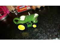 Tractor milk jug