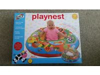 Brand new baby items - play mat, playnest and travel booster seat (highchair )