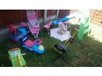 Kids ride on toys £5 each age 1-3