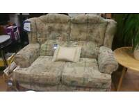 Small 2 seat fireside sofa