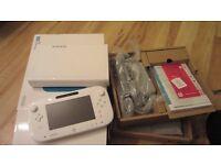 Nintendo Wii U console,15 games,3 controllers