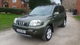 2004 '54' NISSAN X-TRAIL 2.2 SVE DCI - SATELITTE NAVIGATION - LADY OWNER - EXCELLENT SERVICE HISTORY