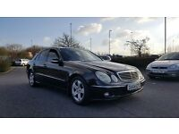 2005 Mercedes E270 2.7 CDI Avantgarde Auto Black Colour Tinted Windows Turbo Diesel E320 W211