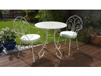 2 Seater garden Bistro With Cushions