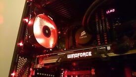 High Spec Custom Gaming PC - i7 4790k - Watercooled - 32GB - G1 Gaming GTX 980 - 512GB SSD - 2TB HDD