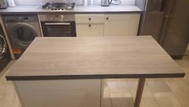 Brand New Kitchen Worktop 120cmx63cm - Wren Kitchens Artisan Grey